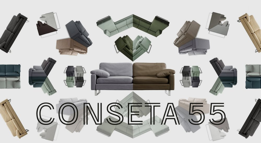 Cor Sofa Conseta 55 Jubiläums Aktion